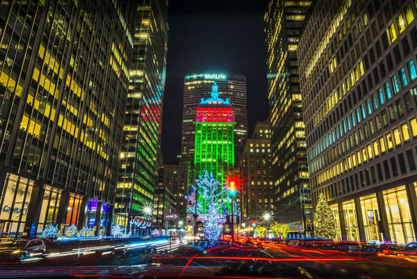 Photograph - Christmas On Park Avenue by David Morefield