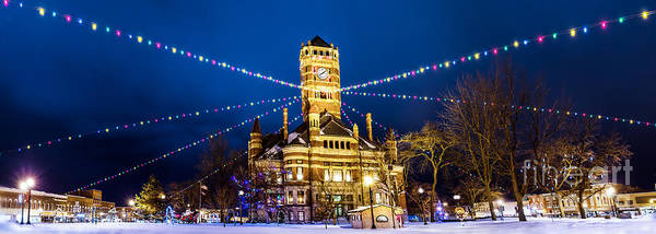 Photograph - Christmas On The Square by Michael Arend