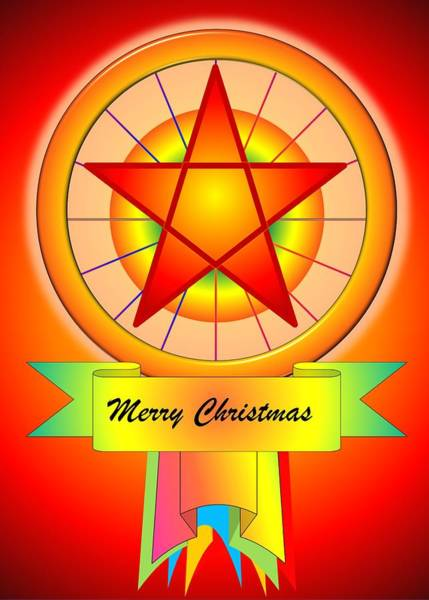 Digital Art - Christmas Parol by Cyril Maza
