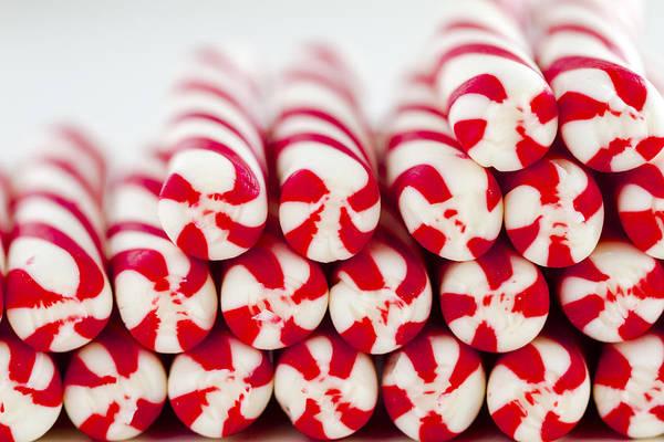 Photograph - Christmas Peppermint Sticks by Teri Virbickis