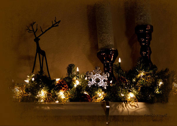 Photograph - Christmas Shadows by Paulette B Wright