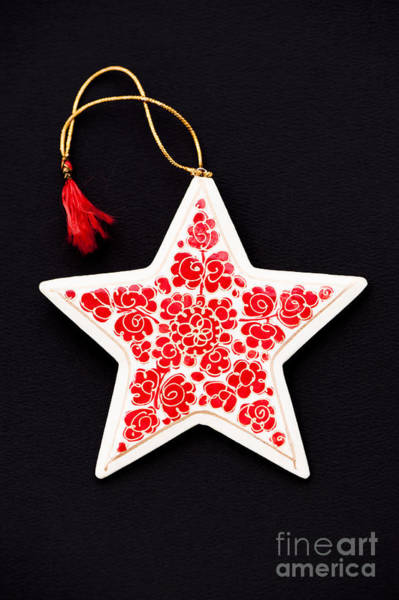 Yule Photograph - Christmas Star by Anne Gilbert