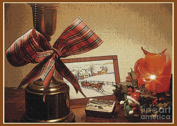 Photograph - Christmas Still Life by Geoff Crego