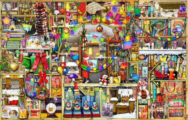 Wall Art - Digital Art - Christmas Stories by MGL Meiklejohn Graphics Licensing