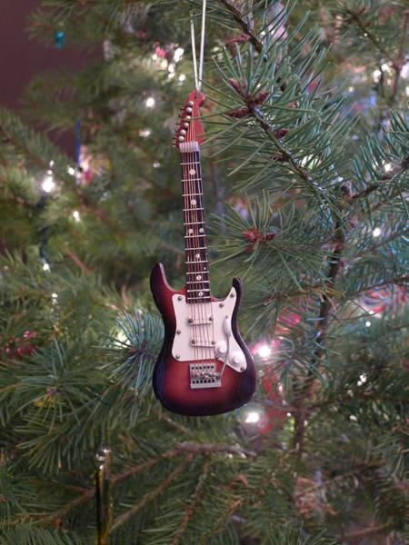 Christmas Stratocaster Art Print