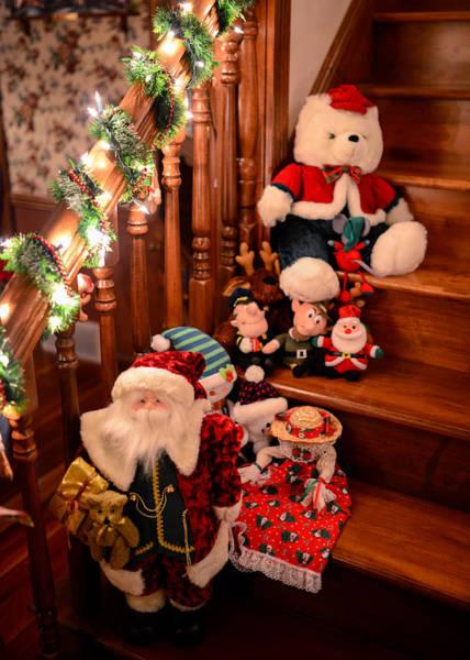 Photograph - Christmas Theme Decor by Clint Buhler
