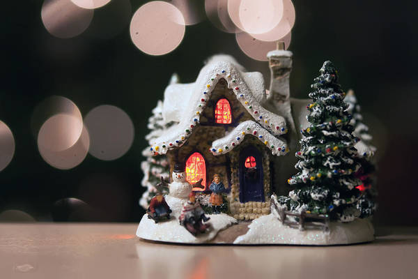 Photograph - Christmas Town Toy by Alex Grichenko