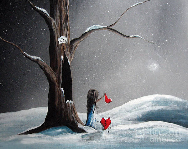 Wall Art - Painting - Christmas Wishes By Shawna Erback by Erback Art