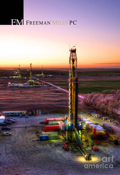 Oilfield Wall Art - Photograph - Christmas_cac001_155 by Cooper Ross