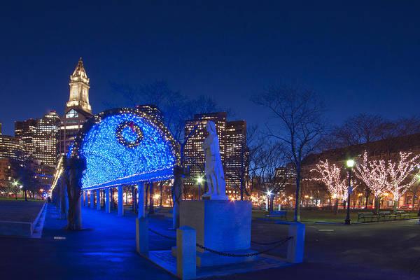 Photograph - Christopher Columbus Park - Boston by Joann Vitali