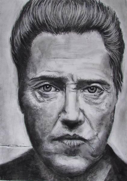 Drawing - Christopher Walken by Eric Dee