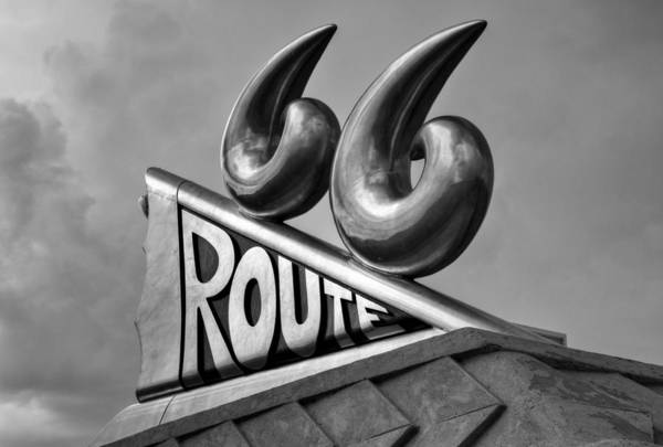 Historic Route 66 Photograph - Chrome 66 II by Ricky Barnard