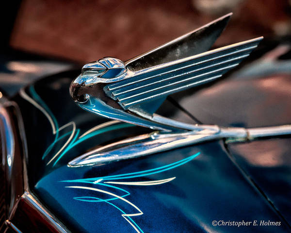 Photograph - Chrome Wings by Christopher Holmes
