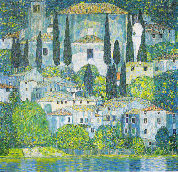 Wall Art - Painting - Chruch In Cassone by Celestial Images