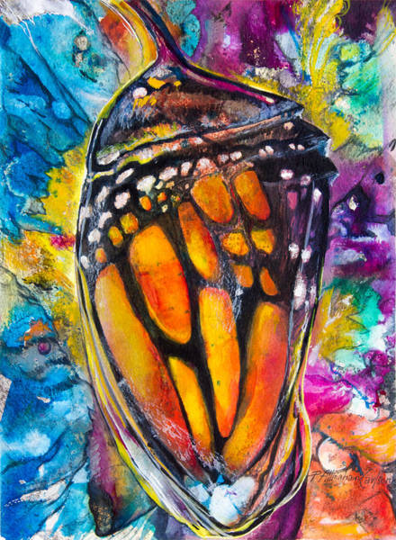 Monarch Butterfly Wall Art - Painting - Chrysalis by Patricia Allingham Carlson