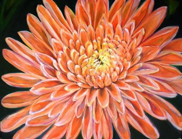 Wall Art - Painting - Chrysanthemum by Jennifer Kwon