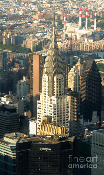 Photograph - Chrysler Building by Gregory Dyer