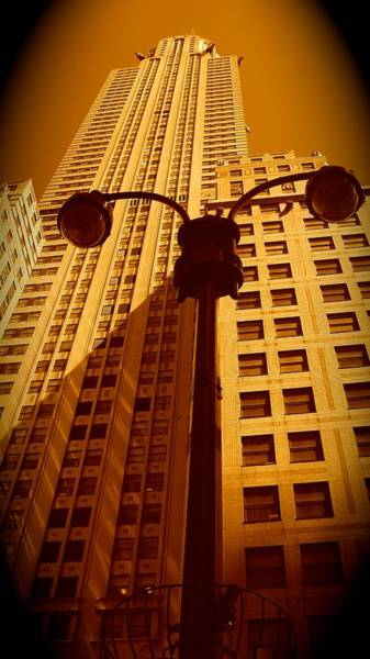Rockefeller Building In Manhattan Art Print
