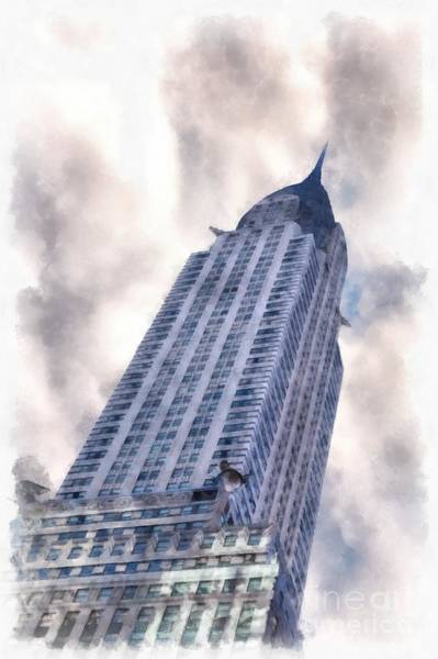 Photograph - Chrysler Building Nyc by Edward Fielding