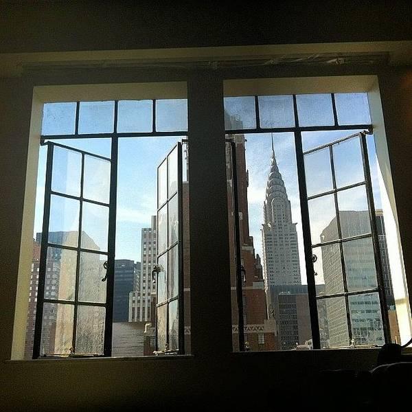 Gotham Wall Art - Photograph - #chrysler #building #skyscraper #nyc by Esther Montoro