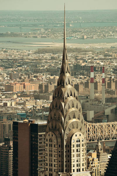 Photograph - Chrysler Building by Songquan Deng