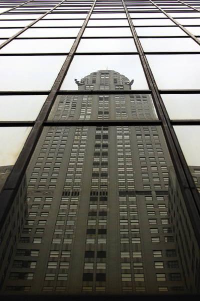 Photograph - Chrysler Reflections by John King
