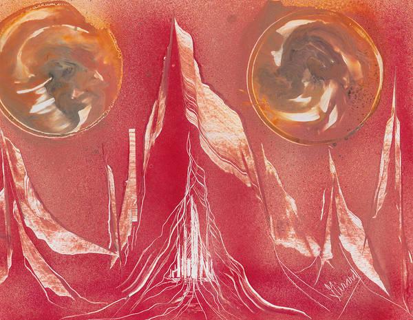 Painting - Chrysmar Caverns by Jason Girard