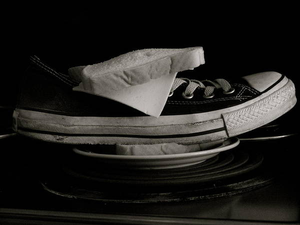 78f6bd9f8c Converse All Star Wall Art - Photograph - Chuck Sandwich by Stacie Winright