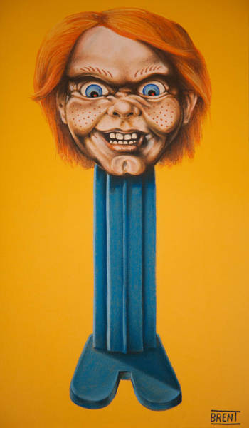 Chucky Art Print by Brent Andrew Doty
