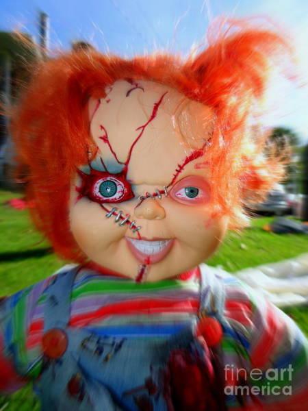 Chucky Wall Art - Photograph - Chuckys Coming by Ed Weidman