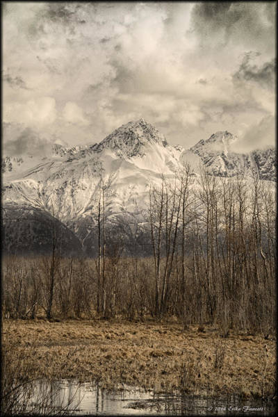 Chugach Mountains In Storm Art Print