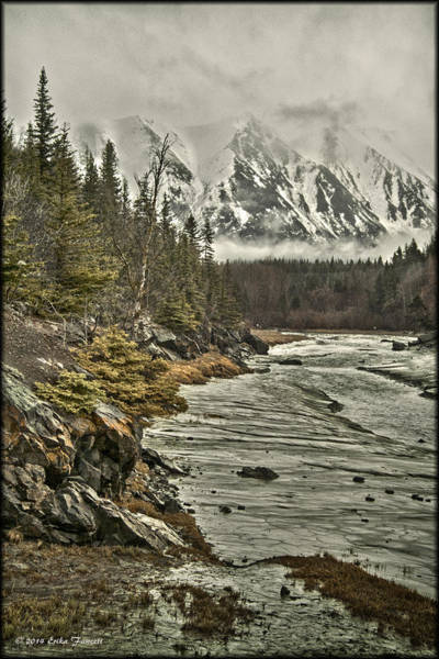 Photograph - Chugach Range by Erika Fawcett