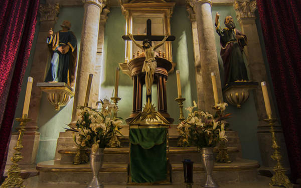 Jalisco Photograph - Church Altar by Aged Pixel
