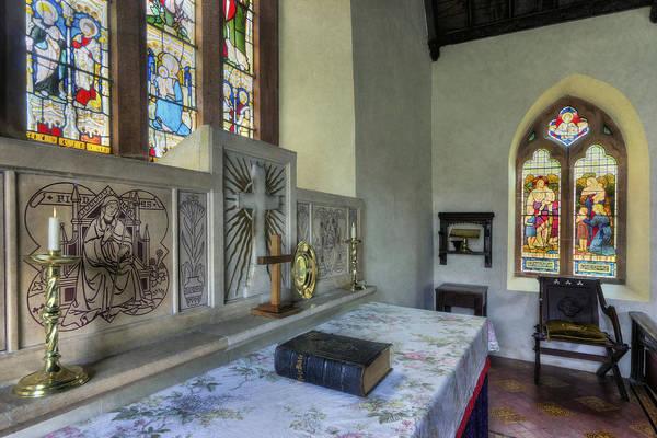 Photograph - Church Altar by Ian Mitchell