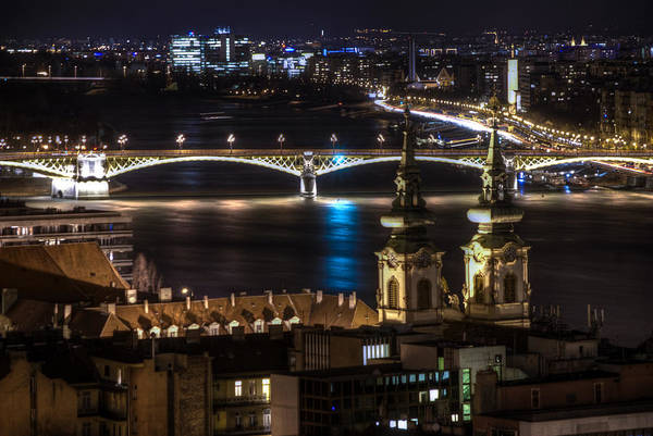 Eastern Europe Digital Art - Church And Bridge by Nathan Wright