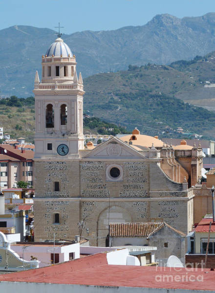 Photograph - Church And Houses - Almunecar - Spain by Phil Banks