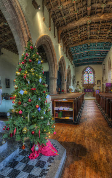Photograph - Church At Christmas V5 by Ian Mitchell