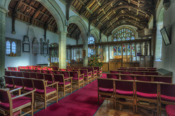Photograph - Church At Christmas V6 by Ian Mitchell