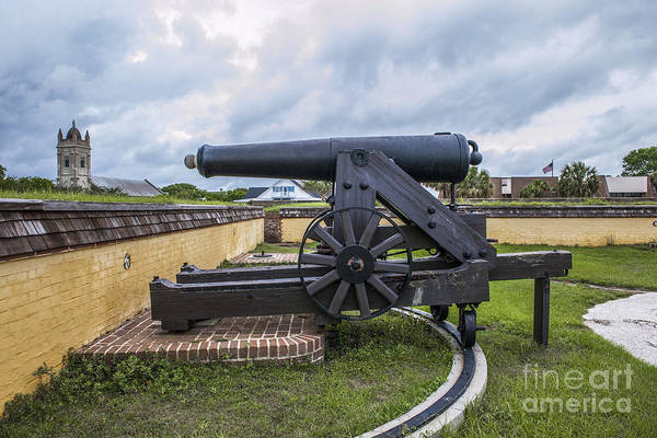 Photograph - Church At Fort Moultrie by Dale Powell