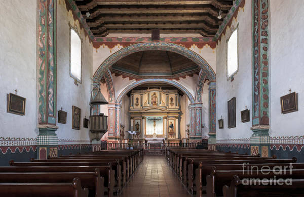 Wall Art - Photograph - Church At Mission San Luis Rey by Sandra Bronstein