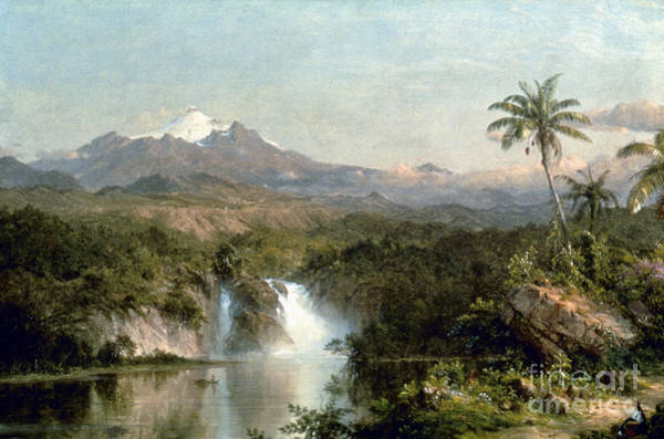 Photograph - Church: Cotopaxi, 1857 by Granger