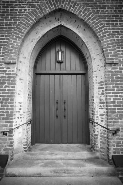 Photograph - Church Door by John Magyar Photography