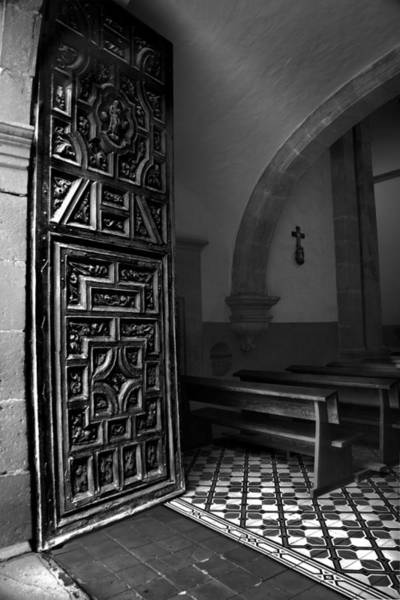 Zacatecas Photograph - Church Door - San Jose De Tayahua Zacatecas Mexico by Martin Alfaro
