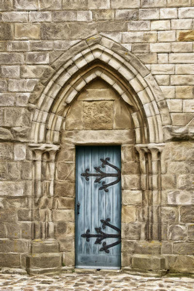 Photograph - Church Door by Wes and Dotty Weber