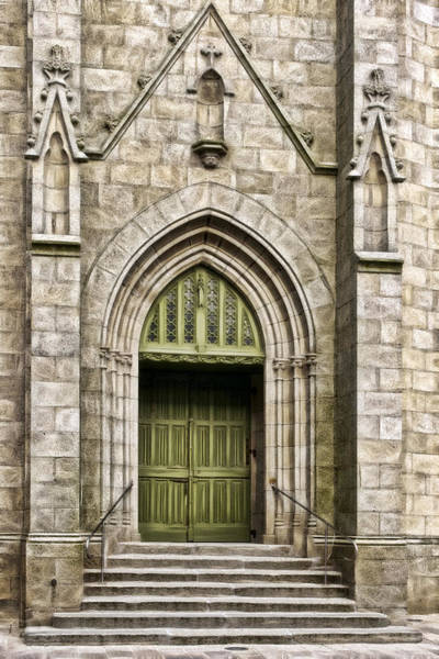 Photograph - Church Entry by Wes and Dotty Weber