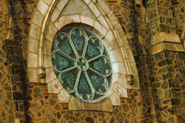 Photograph - Church Glass by Alice Gipson