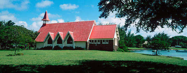 Chapelle Photograph - Church In A Field, Cap Malheureux by Panoramic Images