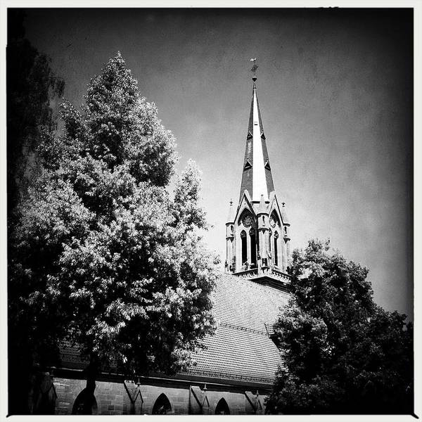 Germany Wall Art - Photograph - Church In Black And White by Matthias Hauser