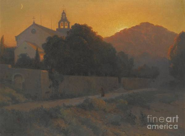Russian Orthodox Church Painting - Church In Dubrovnik by Celestial Images