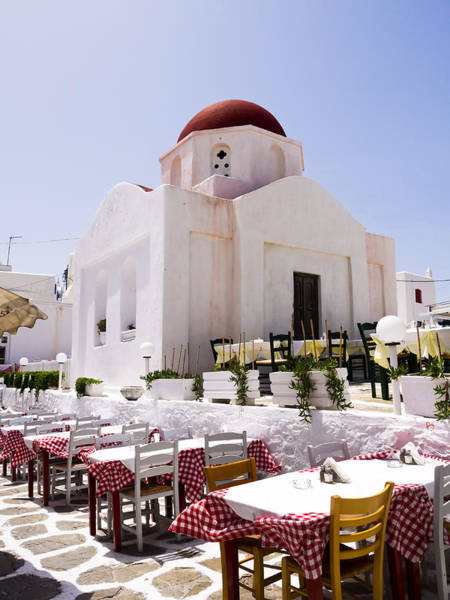 Photograph - Church In Mykonos by Brenda Kean